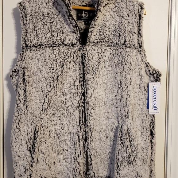 boxercraft Jackets & Blazers - Sherpa Vest